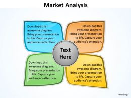 Market Analysis Diagram For Business