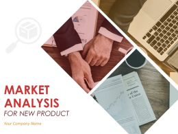 Market Analysis For New Product Powerpoint Presentation Slides