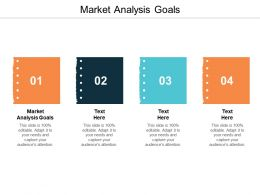 Market Analysis Goals Ppt Powerpoint Presentation Gallery Graphics Pictures Cpb
