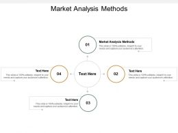 Market Analysis Methods Ppt Powerpoint Presentation Professional Outfit Cpb