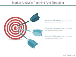Market Analysis Planning And Targeting Ppt Background Designs