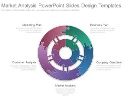 Market Analysis Powerpoint Slides Design Templates