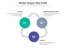 Market Analysis Real Estate Ppt Powerpoint Presentation Infographic Template Aids Cpb