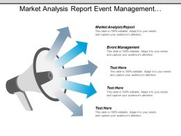 Market Analysis Report Event Management Competitive Marketing Analysis Cpb