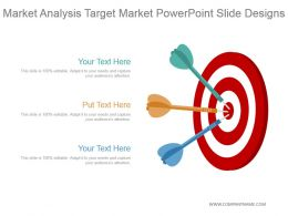 Market Analysis Target Market Powerpoint Slide Designs