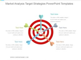 Market Analysis Target Strategies Powerpoint Templates
