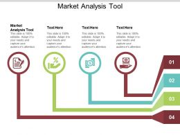 Market Analysis Tool Ppt Powerpoint Presentation Show Samples Cpb