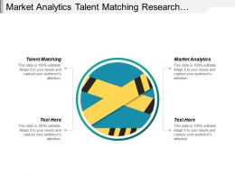 Market Analytics Talent Matching Research Development Function Technology