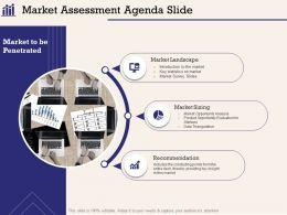 Market Assessment Agenda Slide Introduction M1034 Ppt Powerpoint Presentation Ideas Slide Download