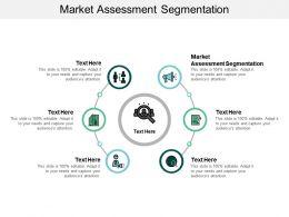 Market Assessment Segmentation Ppt Powerpoint Presentation Styles Inspiration Cpb