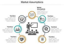 Market Assumptions Ppt Powerpoint Presentation Outline Graphics Download Cpb