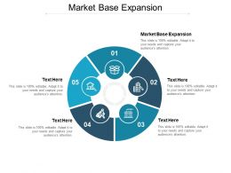 Market Base Expansion Ppt Powerpoint Presentation Icon Visuals Cpb