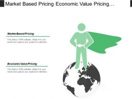 Market Based Pricing Economic Value Pricing Segment Pricing