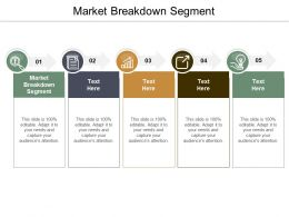 Market Breakdown Segment Ppt Powerpoint Presentation Infographic Template Slide Cpb
