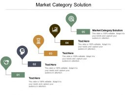 Market Category Solution Ppt Powerpoint Presentation Infographic Template Slide Download Cpb