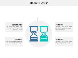 Market Centric Ppt Powerpoint Presentation Show Graphics Example Cpb