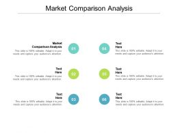 Market Comparison Analysis Ppt Powerpoint Presentation File Graphics Pictures Cpb
