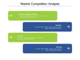 Market Competition Analysis Ppt Powerpoint Presentation Infographic Template Visuals Cpb