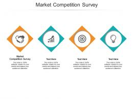 Market Competition Survey Ppt Powerpoint Presentation Infographics Background Cpb
