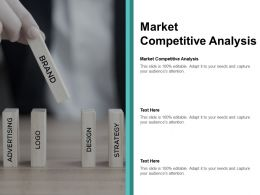 Market Competitive Analysis Ppt Powerpoint Presentation Pictures Icon Cpb