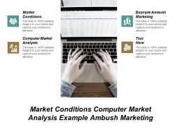 Market Conditions Computer Market Analysis Example Ambush Marketing Cpb