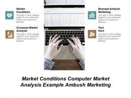 Market Conditions Computer Market Analysis Example Ambush Marketing Cpb