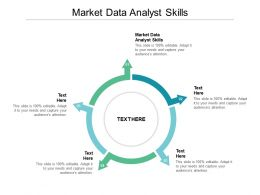 Market Data Analyst Skills Ppt Powerpoint Presentation Design Templates Cpb