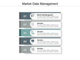Market Data Management Ppt Powerpoint Presentation Styles Demonstration Cpb