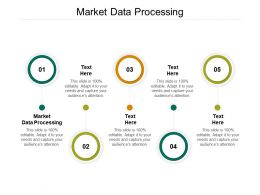 Market Data Processing Ppt Powerpoint Presentation Gallery Outfit Cpb