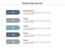 Market Data Sources Ppt Powerpoint Presentation File Outfit Cpb