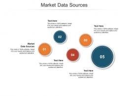 Market Data Sources Ppt Powerpoint Presentation Professional Template Cpb