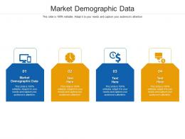 Market Demographic Data Ppt Powerpoint Presentation Model Tips Cpb