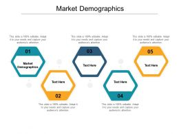 Market Demographics Ppt Powerpoint Presentation Outline Styles Cpb