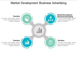 Market Development Business Advertising Ppt Powerpoint Presentation Outline Deck Cpb