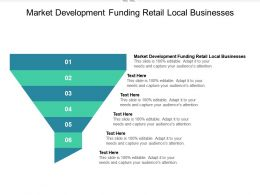 Market Development Funding Retail Local Businesses Ppt Powerpoint Presentation Outline Cpb