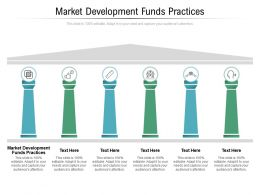 Market Development Funds Practices Ppt Powerpoint Presentation Inspiration Outfit Cpb