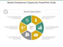 Market Development Opportunity Powerpoint Guide