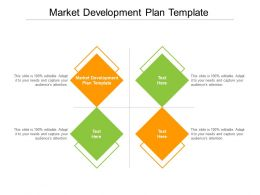 Market Development Plan Template Ppt Powerpoint Presentation Styles Cpb