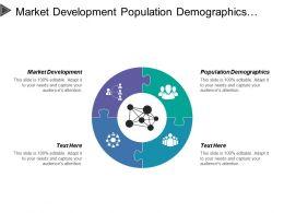 Market Development Population Demographics Economy Large Customer Content
