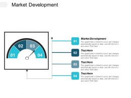 Market Development Ppt Powerpoint Presentation File Elements Cpb