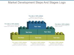 Market Development Steps And Stages Logo Ppt Examples Slides