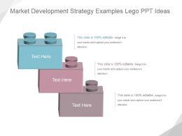 Market Development Strategy Examples Lego Ppt Ideas