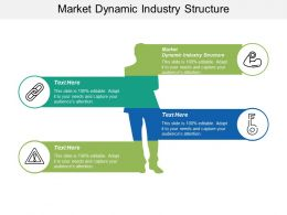 Market Dynamic Industry Structure Ppt Powerpoint Presentation Portfolio Shapes Cpb