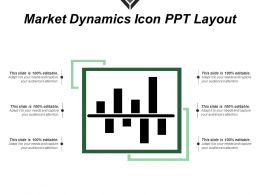 Market Dynamics Icon Ppt Layout
