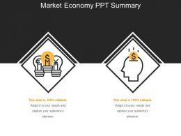 Market Economy PPT Summary