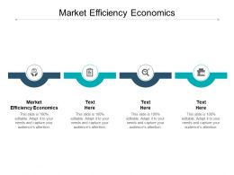 Market Efficiency Economics Ppt Powerpoint Presentation Model Master Slide Cpb