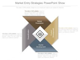 Market Entry Strategies Powerpoint Show
