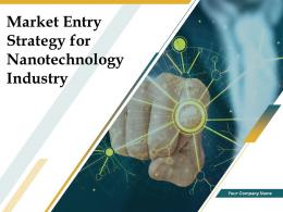 Market Entry Strategy For Nanotechnology Industry Powerpoint Presentation Slides