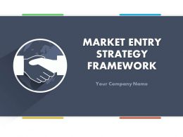 Market Entry Strategy Framework PowerPoint Presentation With Slides