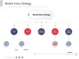 Market Entry Strategy New Service Initiation Plan Ppt Formats